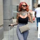 Jemma Lucy – Leaving House Of Evelyn Hair and Beauty Salon in Manchester - 454 x 748