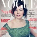 Nigella Lawson Vogue UK April 2014 - 454 x 595