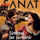Alain Delon, Claudia Cardinale - Milliyet Sanat Magazine Cover [Turkey] (April 2015)