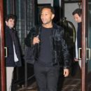 John Legend and Chrissy Teigen were spotted out and about in New York City, New York on October 15, 2016