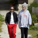 Cara Delevingne and Ashley Benson – Spotted while out for a walk in LA