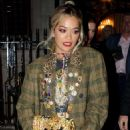 Rita Ora – Leaving the Chiltern Firehouse in London - 454 x 681
