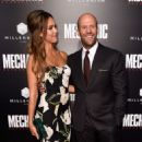 Jessica Alba & Jason Statham : Mechanic: Resurrection  Premiere (August 22, 2016) - 454 x 531