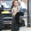 Michelle Heaton Outside The London Studios