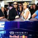 Pamela Anderson at the United States Formula One Grand Prix at Circuit of The Americas on November 1, 2014 Austin,TX