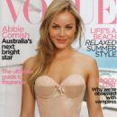 Abbie Cornish - Vogue Australia Magazine, December 2009