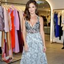 Minka Kelly Zimmermann Melrose Place Flagship Store Opening In La