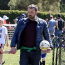 Ben Affleck spotted at his daughter  soccer game on Saturday April 1st, 2017 in Santa Monica, CA - 442 x 600