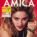 Madonna - Amica Magazine Cover [Italy] (19 December 1985)