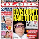 Elvis Presley - Globe Magazine Cover [United States] (10 August 2015)