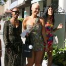 Amber Rose Shopping at Chanel in Los Angeles, California - April 28, 2011