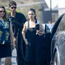 Mila Kunis – Arrives at a studio in Culver City