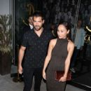 Cara Santana and Jessie Metcalfe Leaves Catch LA in West Hollywood - 454 x 681