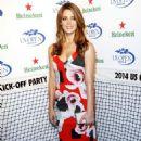 Ashley Greene 2014 Heineken Us Open Kick Off Party In Nyc