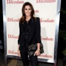 Cindy Crawford At The Descendants Premiere