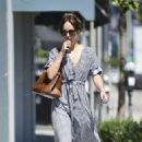 Dakota Johnson in Summer Dress – Out in Los Angeles
