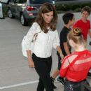 Maria Shriver outside the Wallis Annenberg Center in Beverly Hills July 31 2015
