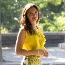 """Leighton Meester Kicks Off New Season of """"Gossip Girl"""""""