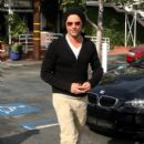 John Stamos is all smiles after grabbing lunch at Fred Segal. March 17, 2011