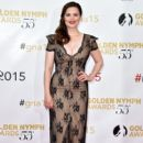 Hayley Atwell attends the closing ceremony of the 55th Monte-Carlo Television Festival on June 18, 2015, in Monaco - 399 x 600