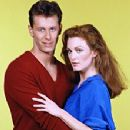 Julianne Moore and Steven Weber