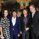 L'Wren Scott and Mick Jagger host private dinner at the Cafe Royal Hotel to celebrate the L'Wren Scott Fall/Winter 2013 Collection - London, UK - 17 February 2013 - 454 x 302