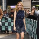 Heather Graham – Arriving at the AOL Build Speaker Series in NY