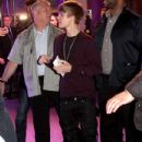 Justin Bieber attends the 'Justin Bieber: Never Say Never' Paris premiere on February 17, 2011 in Paris, France.