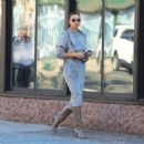 Irina Shayk – Look fashionable while out in New York