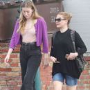 Anna Paquin with a friend out in Venice - 454 x 681