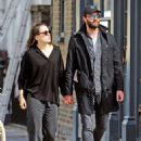 Daisy Ridley and Tom Bateman – Out in Primrose Hill - 454 x 617