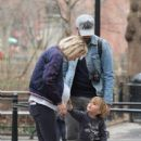 Olivia Wilde spotted taking a walk during a break from filming her upcoming movie 'Life, Itself' in Manhattan, New York's Washington Square Park on March 26, 2017 - 406 x 600