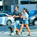 July 25, 2017 - Danielle Campbell and Gregg Sulkin out and about in Los Angeles, CA - 454 x 496