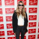 Cara Delevigne attends the Ray-Ban Raw Sounds Event at Village Underground on November 8, 2011 in London, England