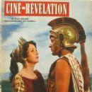 Danielle Darrieux, Richard Burton, Ciné Révélation n°76, 1955 - 454 x 595