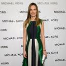 Hilary Swank: showed up at the Michael Kors 2013 Fall Fashion Show in Manhattan