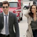 Maggie Q and Dylan McDermott - 454 x 303