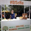Erin Andrews Florida Orange Juice Tailgate Event In New York City