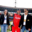 Salman Khan at Celebrity Cricket League 2011 Opening