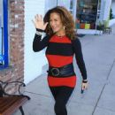 Claudia Wells – Outside her store Armani Wells in Studio City - 454 x 681
