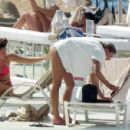 Zara McDermott – Bikini candids on vacation in Cyprus - 454 x 299
