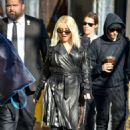 Christina Aguilera – Arrives at Jimmy Kimmel Live in Hollywood