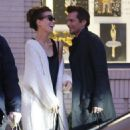 Kate Beckinsale and Len Wiseman out shopping at Barneys New York in Beverly Hills, California on December 20, 2014