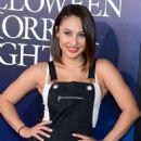Francia Raisa – 'Halloween Horror Nights' Opening in Los Angeles - 454 x 545