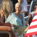 Amber Rose at Paris Hilton's 4th of July Party in Malibu, California - July 4, 2013