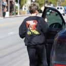 Kristen Stewart in Leggings – Out in Los Angeles