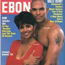 David Justice and Halle Berry - 373 x 499