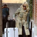 Holly Willoughby – Returns home in London
