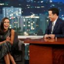 Rosario Dawson at 'Jimmy Kimmel Live!' (July 2014)