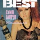 Cyndi Lauper and David Thornton - BEST Magazine Cover [France] (September 1985)